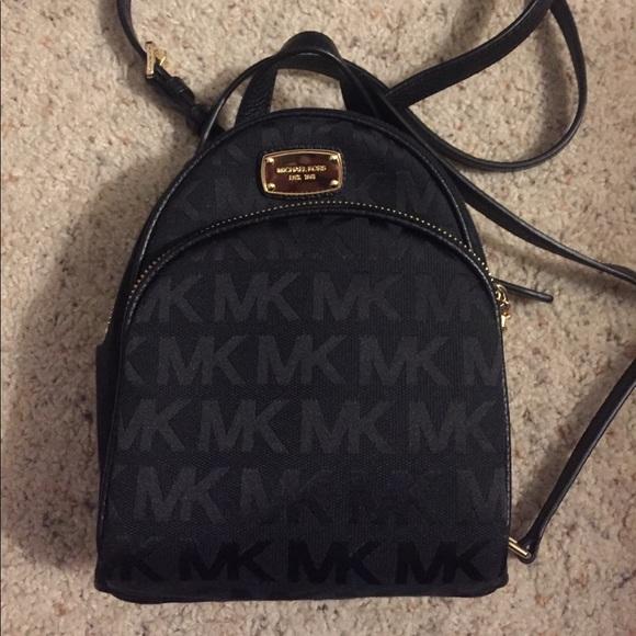 68fe07cf9a4c Michael Kors Abbey XS Monogram backpack. M_5afcb767f9e5010010885ea3